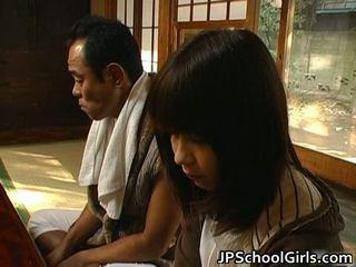 Haru sakuragi アジアの 女子生徒 has セックス