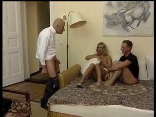 mmf, threesome, grandpa, old farts