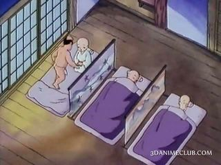 Nag animirano nuna having seks za the prva