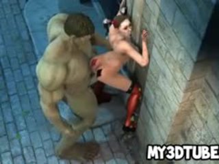3d harley quinn fucked līdz the incredible hunk
