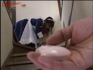 cum, oriental, maid