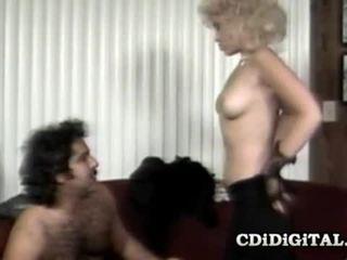 Barbi Dahl & Ron Jeremy Vintage Babe Fucked Hard