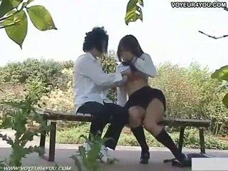 Nakal pelajar putri di luar seks filmed
