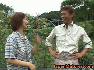 Chisato shouda ázsiai érett csaj gets
