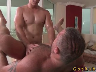 Admirable lad acquires homo bips massage