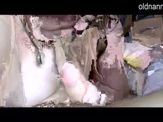 Mũm mĩm grannny và chất béo trưởng thành sự nịnh hót một tinh ranh video