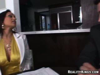 Zenza Raggi Fuckes A Girl On The Desk