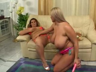 BBW Laura Orsolya with Jenny
