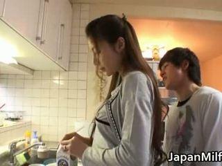 japonez evaluat, bucătărie ideal, milf evaluat
