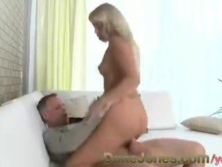 DaneJones HD Hot young blonde makes his cock rock hard