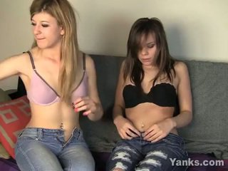 Yanks ginger p and tessa double cum.