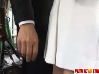Yuu Asakura With A Cock On The Bus
