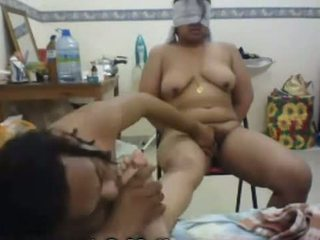 Amateur Indian couple getting recorded on cam Video