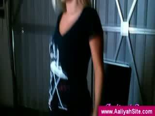 The innocent aaliyah představení pryč ji prdel