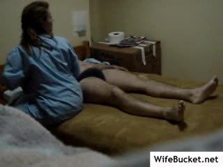 Nurse fucked on hidden cam