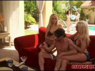 Tommy gunn - bikini threesomes sexo tasha reign leya falcon