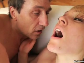 Lily Luvs Chick Let Man's Comings Melt On Her Face