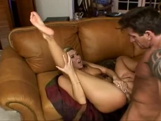 Hawt Anal Paramour Tiffany Rayne Spreads It Wide Getting Cock Hammering Her Deep