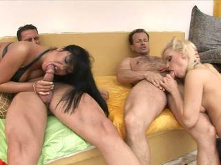 Amazing swingers' foursome story.