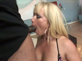 blowjob, big cock, interracial