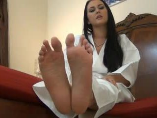 hottest brunettes quality, foot fetish