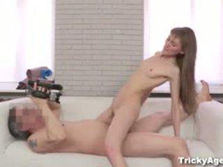 Elena brought sie boyfriend bis meine video talentsuche. oops! ich