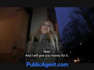 Verejnosť agent fucks blondýna pobehlica dominica