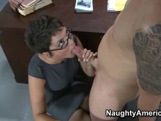 Sexy Teacher Wearing Glasses Fuckied In Her Class
