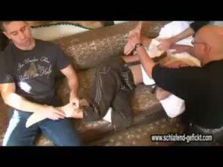 Sleeping Drunk Blonde Video