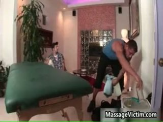Jake Austin Gets His Astonishing Body Massaged
