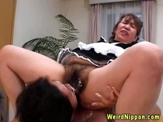 gros seins, mamie, fétiche, asiatique