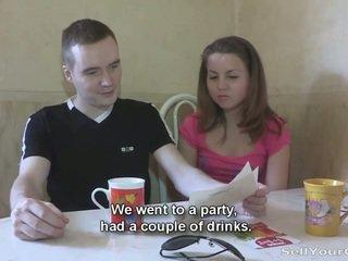 brunette, online oral sex, sucking cock posted