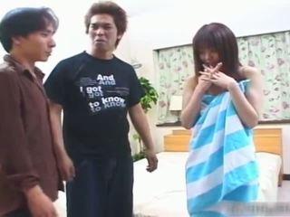 groupsex, japanese, blowjob, amazingjav