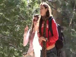 Faye reagan و georgia jones تذهب خارج إلى عمل في thier علاقة