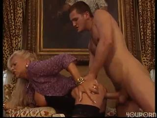 Mature woman fucked by stud
