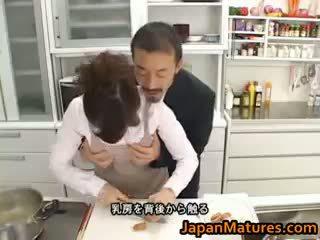 Hitomi kurosaki зріла азіатська ціпонька part1