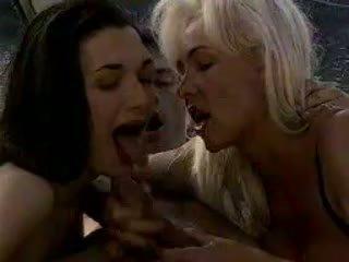 Helen Duval's Hot Euro Threesome