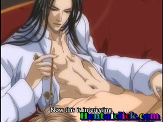 Tied Up Anime Gay Twink Doggy Style Anal Cock
