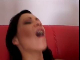 Naughty Angelina Crow Acquires Her Miniature Asshole Drilled Deep And Takes Messy Jizz