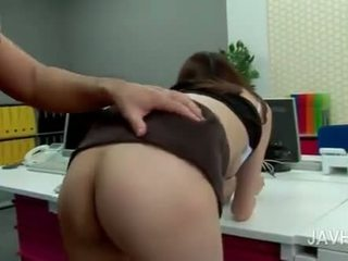 Hardcore Anal Sex In The Office With Asian Girl In Glasses