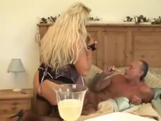Abused Blonde Plays Hard With Vovo