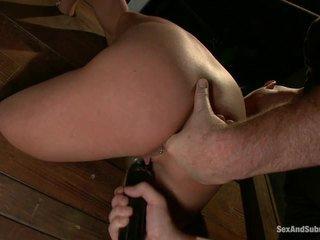 Immature aiden aspen going through the punishment
