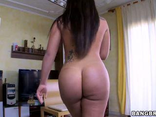 Clara Gold showing off her big fat ass