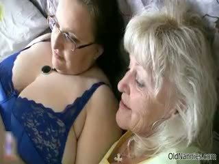 Cachonda abuelita loves having lesbianas sexo part6