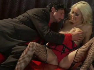 Sausage starved breanne benson couldnt just resist her lovers irresistible rod