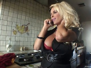 Blonde Mom Has Made Love By Her Step Son
