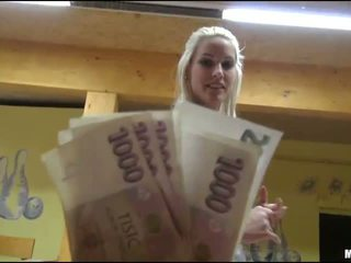 Eurobabe Blanche banged for some money