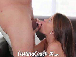 Casting couch-x georgia peach excited to do porno for $