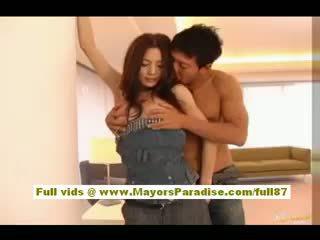 Tina Yuzuki Amateur Asian Babe Gets Horny