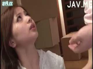 japanilainen, tyttö, cumshot